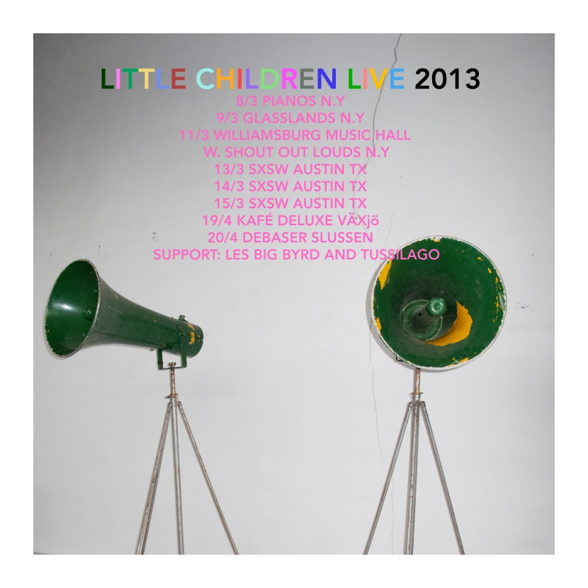 Litlle Children live 2013.
